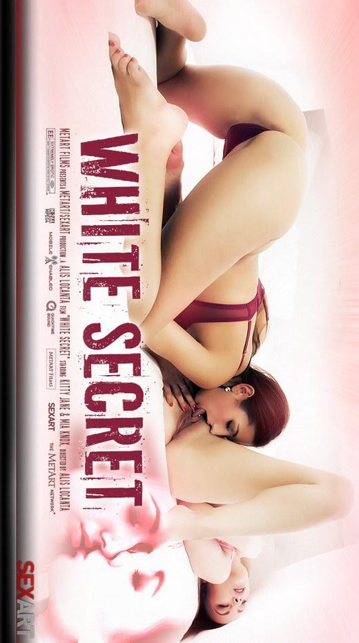Kitty Jane & Mia Knox - `White Secret` - by Bo Llanberris for SEXART VIDEO