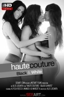 Alyssa Reece & Mango A & Margot A - Haute Couture - Black & White