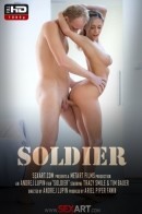 Tracy Smile in Soldier video from SEXART VIDEO by Andrej Lupin