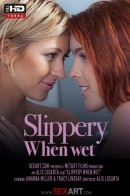 Amarna Miller & Tracy Lindsay - Slippery When Wet