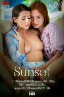 Michelle H & Sybil A - Sunset