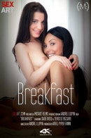 Sade Rose & Teresse Bizzarre in Breakfast video from SEXART VIDEO by Andrej Lupin