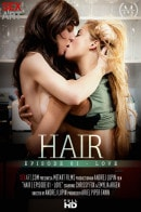 Chrissy Fox & Emylia Argan in Hair Episode 1 - Love video from SEXART VIDEO by Andrej Lupin