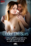 Belle Claire & Chrissy Fox in Under The Stars video from SEXART VIDEO by Andrej Lupin