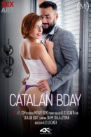 Caomei Bala in Catalan BDAY video from SEXART VIDEO by Alis Locanta