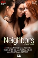 Amarna Miller & Frida & Kari in Neighbors Episode 2 - I Want More video from SEXART VIDEO by Andrej Lupin
