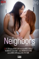 Amarna Miller & Frida in Neighbors Episode 3 - Less Is More video from SEXART VIDEO by Andrej Lupin