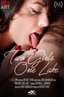 Lorena B & Sabrisse A in Two Girls One Lake video from SEXART VIDEO by Don Caravaggio