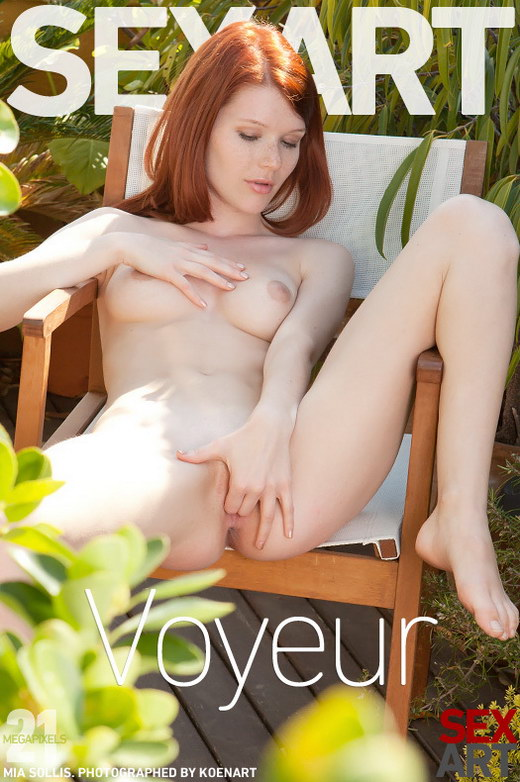 Mia Sollis - `Voyeur` - by Koenart for SEXART
