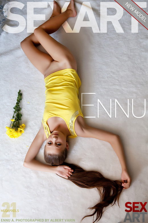 Ennu A - `Presenting Ennu` - by Albert Varin for SEXART