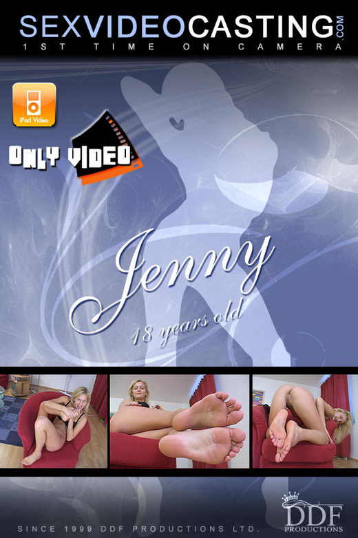 Jenny in  video from SEXVIDEOCASTING