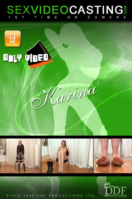 Karina - `The Casting Of Karina` - for SEXVIDEOCASTING