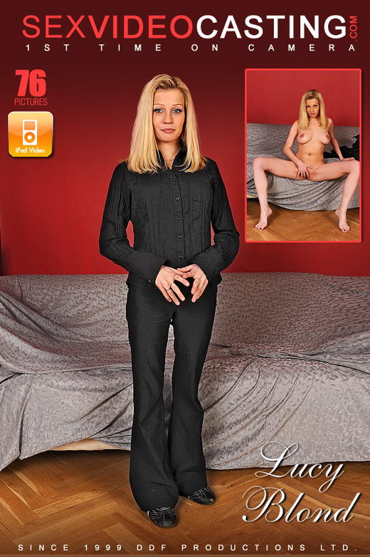 Lucy Blond - `The Name Is Blond - Lucy Blond` - for SEXVIDEOCASTING