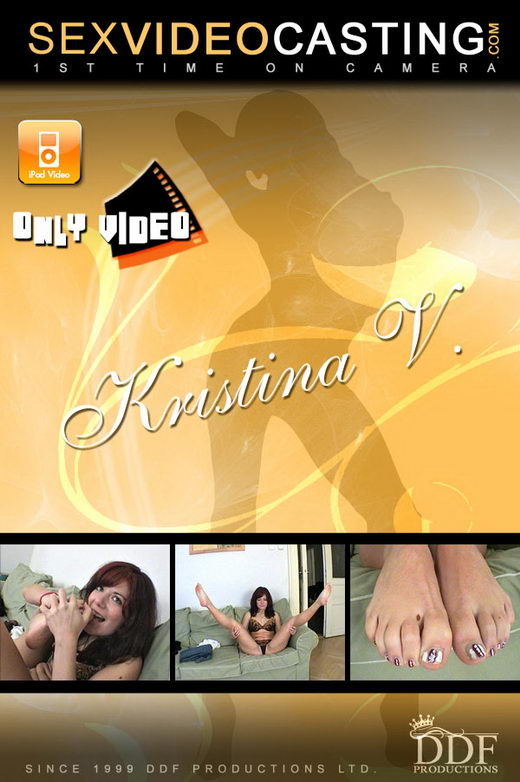 Kristina V - `Horny Crimson Haired Cutester` - for SEXVIDEOCASTING