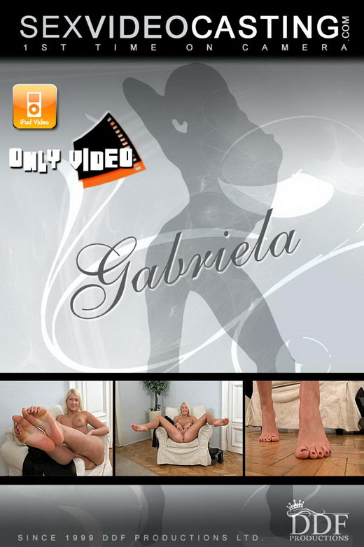 Gabriela - `A Tall Glass Of Complete Beauty` - for SEXVIDEOCASTING