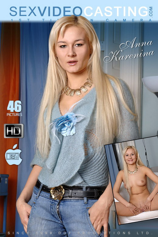 Anna Karenina - `Green eyed Russian starlet!` - for SEXVIDEOCASTING