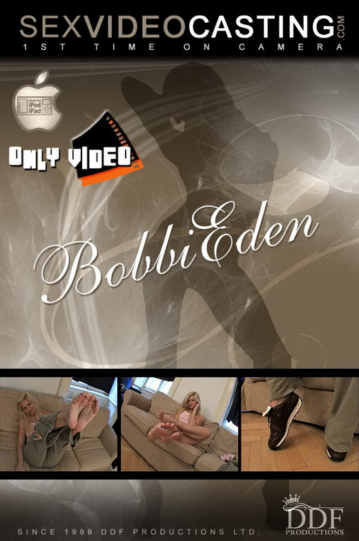Bobbi Eden - `Tempting us with her twinklers!` - for SEXVIDEOCASTING