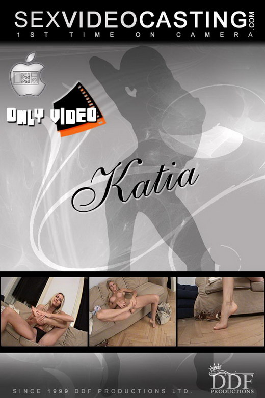 Katia - `Long legged vixen wows us!` - for SEXVIDEOCASTING