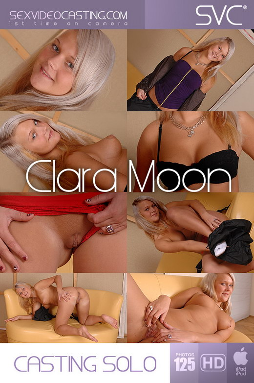 Clara Moon - `Sweet Striptease` - for SEXVIDEOCASTING