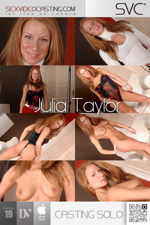 Julia Taylor - `Red Hot Hungarian Bod!` - for SEXVIDEOCASTING