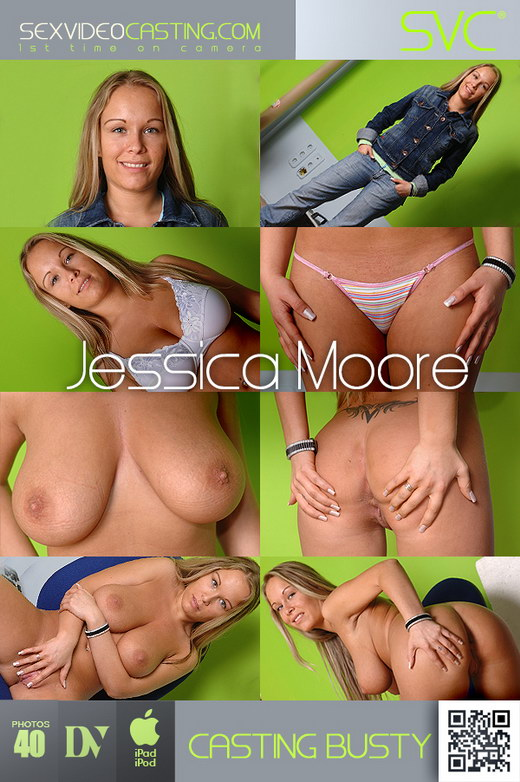 Jessica Moore - `Juicing Up Her Jugs!` - for SEXVIDEOCASTING