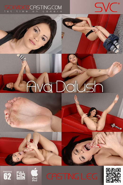Ava Dalush - `Sassy With A Capital S!` - for SEXVIDEOCASTING