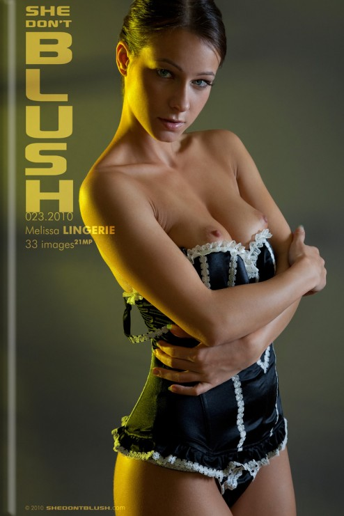 Melissa in Lingerie gallery from SHEDONTBLUSH