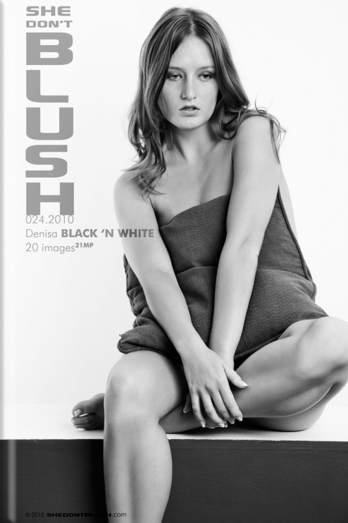 Denisa - `Black n White` - for SHEDONTBLUSH