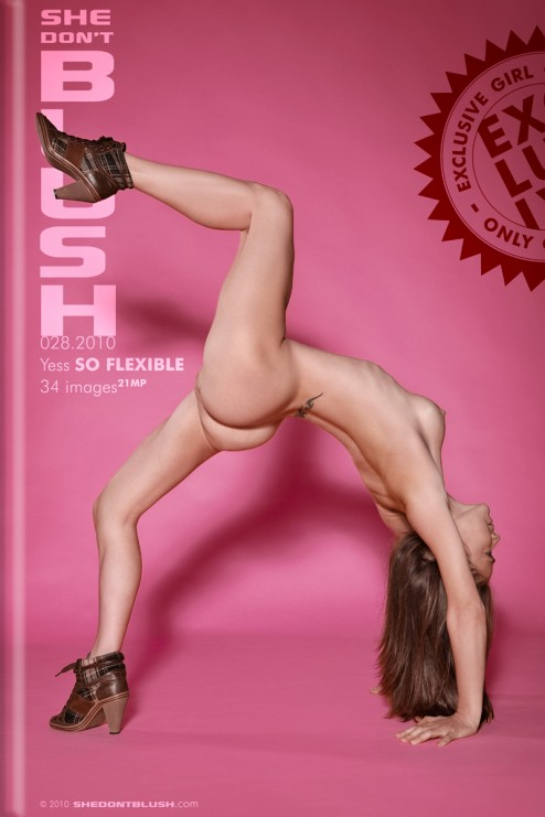 Yess - `So Flexible` - for SHEDONTBLUSH
