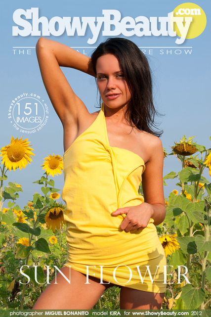 Kira - `Sun Flower` - by Miguel Bonanito for SHOWYBEAUTY