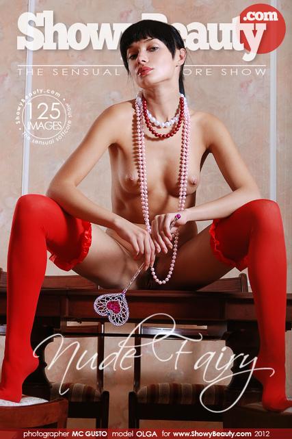 Olga - `Nude Fairy` - by Mc Gusto for SHOWYBEAUTY