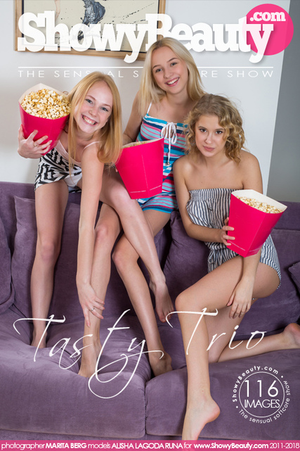 Sexy girls tasty trio confirm