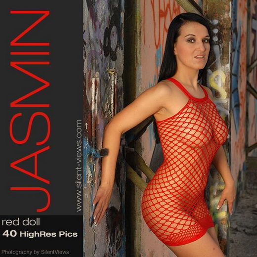 Jasmin - `#110 - Red Doll` - for SILENTVIEWS