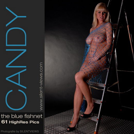 Candy - `#14 - The Blue Fishnet` - for SILENTVIEWS
