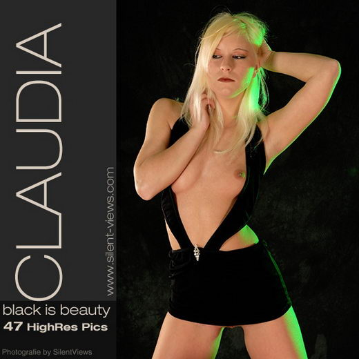Claudia - `#41 - Black Is Beauty` - for SILENTVIEWS
