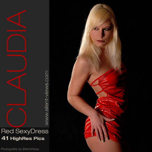 Claudia - `#39 - Red Sexy Dress` - for SILENTVIEWS