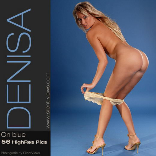 Denisa - `#53 - On Blue` - for SILENTVIEWS