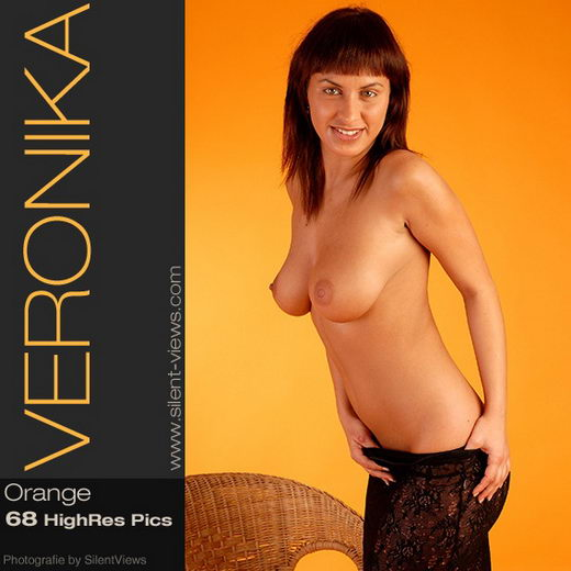 Veronika - `#13 - Orange` - for SILENTVIEWS