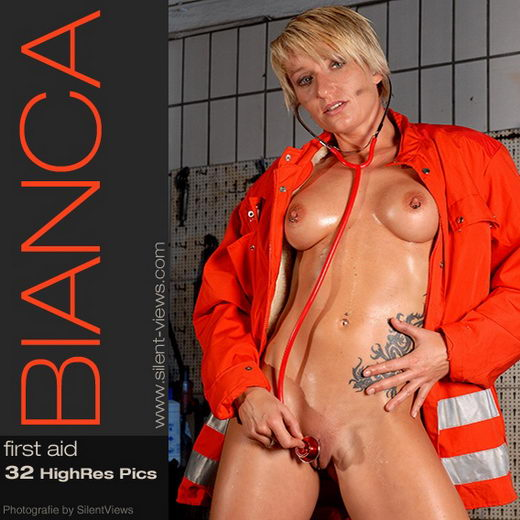 Bianca - `#36 - First Aid` - for SILENTVIEWS