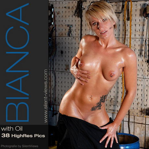 Bianca - `#35 - With Oil` - for SILENTVIEWS