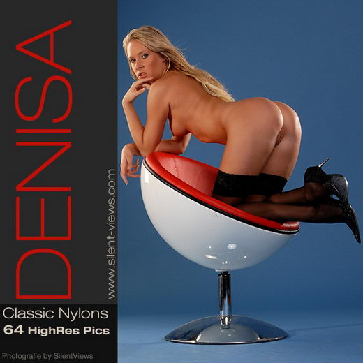 Denisa - `#11 - Classic Nylons` - for SILENTVIEWS