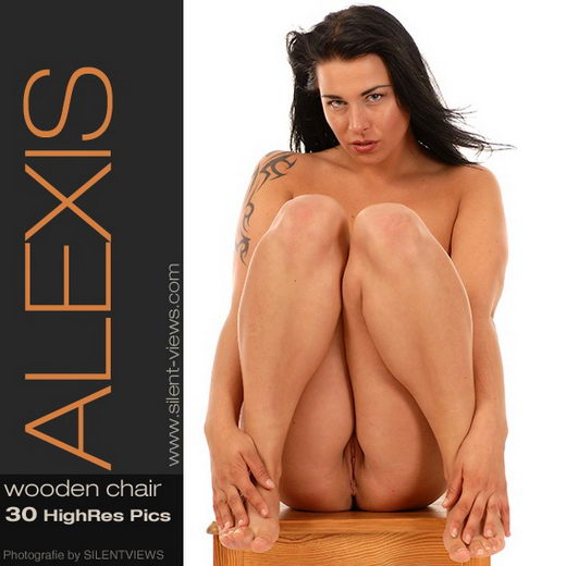 Alexis - `#63 - Wooden Chair` - for SILENTVIEWS