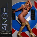 Angel in #107 - Golden Boots gallery from SILENTVIEWS