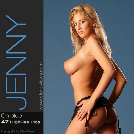 Jenny - `#23 - On Blue` - for SILENTVIEWS