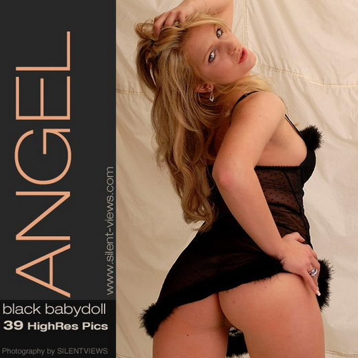Angel - `#81 - Black Babydoll` - for SILENTVIEWS