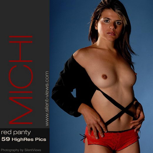 Michi - `#130 - Red Panty` - for SILENTVIEWS