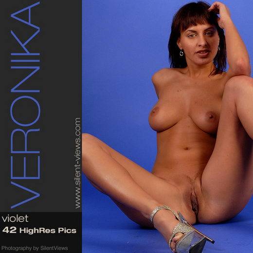 Veronika - `#129 - Violet` - for SILENTVIEWS