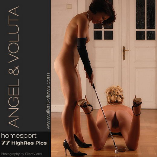 Angel & Voluta - `#146 - Homesport` - for SILENTVIEWS