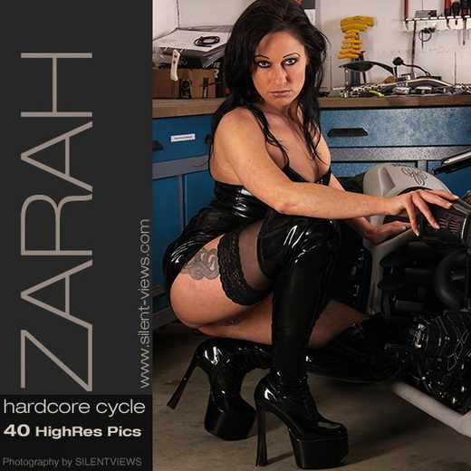 Zarah - `#161 - Hardcore Cycle` - for SILENTVIEWS