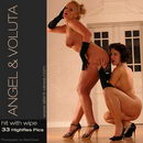 Angel & Voluta in #150 - Hit With Wipe gallery from SILENTVIEWS
